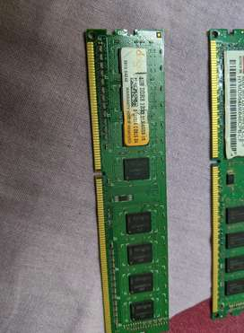 One 4GB DDR3 RAM for Desktop PC