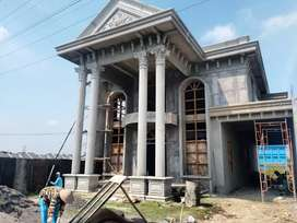 BU - Rumah Klasik Finishing Plus Tanah Zona Industri