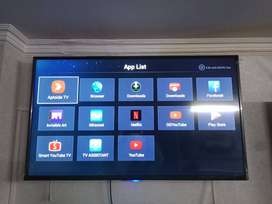 """Brand New 55"""" Smart Ultra HD Android Led TV With Built-In Apps"""