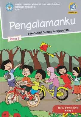 Buku Tematik SD Paket Kelas 1 Revisi 2019