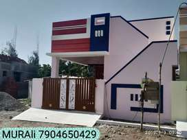 MURAli NEW 2 BHK NORTH FACING HOUSE SALE IN VLANKURCHI ROAD