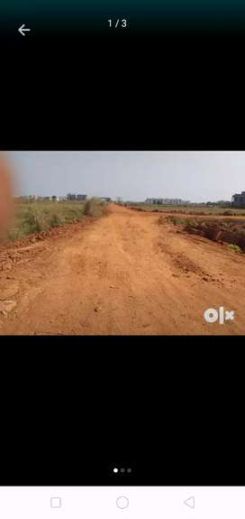 Residental land at atharnala.60 feet bypass road to puri.
