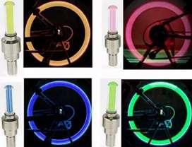 HS Tutup lampu pentil led flashing sepeda motor