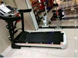 Alat Fitnes Dirumah Treadmill Elektrik Multi Fungsi