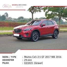Mazda Cx5 2.5 GT AT 2017 NIK 2016 Matic