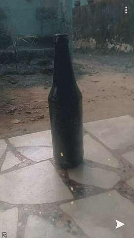 Simple bottle art