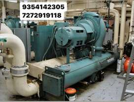Used chiller plant buyer ac plant buyer