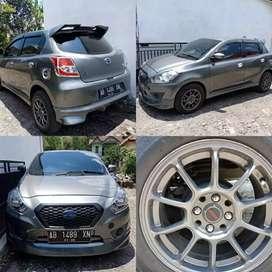 Jual Datsun Go Panca T 2015 KM rendah banget 44xxx Plat AB Pemilik
