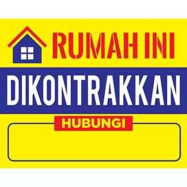 Dicari rumah dikontrakan