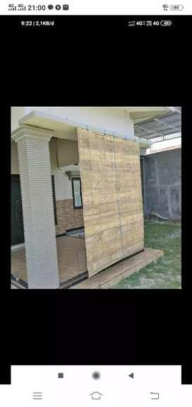 Langsung kirim tirai bambu