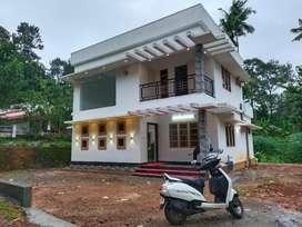 Kothamangalam pothanikad 9 cent with new double storey house.