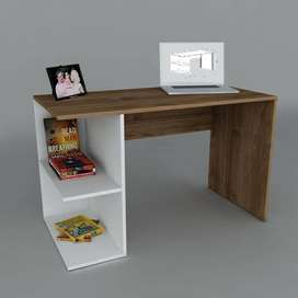 Study table book shelf in wooden brand new wide range