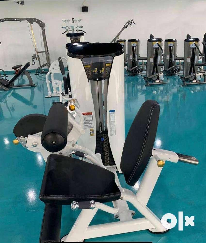 gym equipment nice setup with cardio