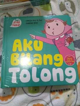 """Buku Anak """"Aku bilang Tolong"""" murah berkualitas"""