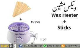 Hair Removal Electric Wax Warmer Machine Heater with 10pcs Stickers