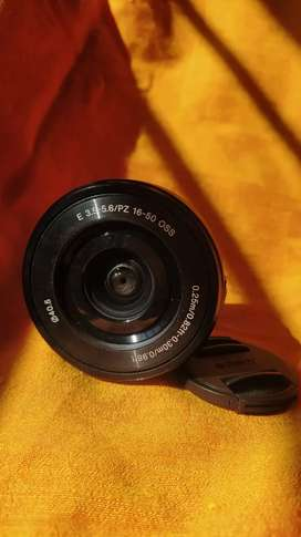 Sony 16-50 mm power zoom lens