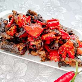 Paru Balado Padang / ready to eat