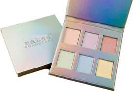 Naked cosmetics holographic highlighter pallet