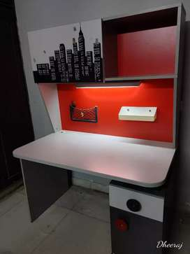 Reading Table with attached light