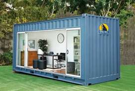 Kontainer Container Modifikasi Office, Cafe, Barbershop