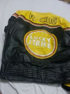 Leather Sports/Heavy bike jacket with all safety gadget in very cheap