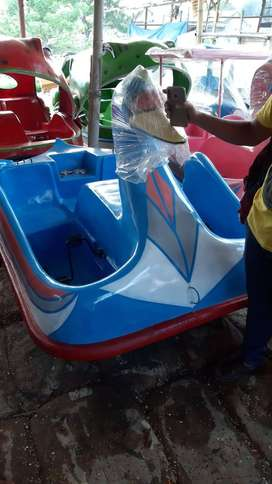 sepeda air fiberglass, bebek atau angsa sepeda gowes