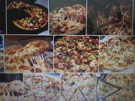 Pizza cheff and fast food experience worker required