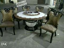 bran dnew stylish marble dining table