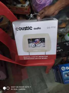 Tv headrest 7 inch coustic (;megah top )