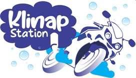 Klinap station bikewash