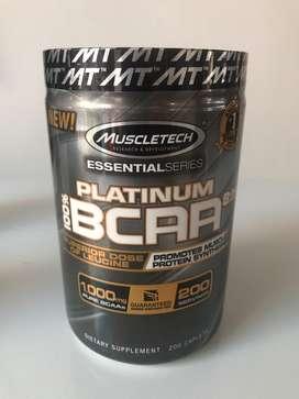 PLATINUM BCAA 200 kapsul muscletech surabaya