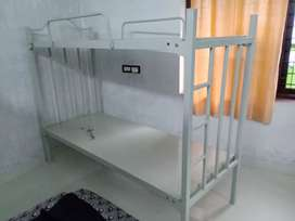 Metal two step Bed