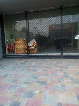 Shop for rent in johar town neat and clean area very good location
