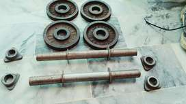 Dumble pure solid rodd..1×4 4kg weight