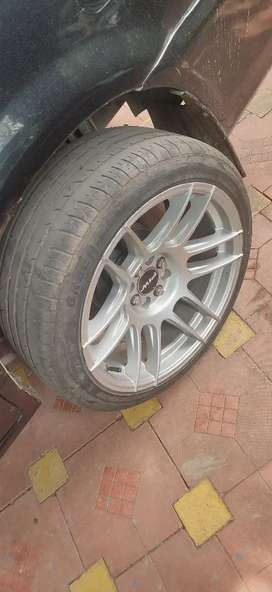 Piw alloy wheels  with new Tyre  17 inch 9j
