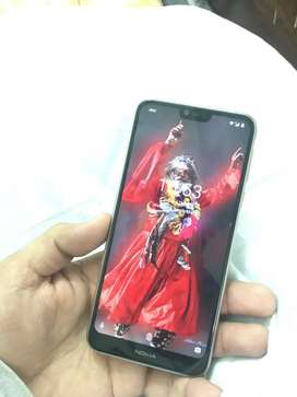 NOKIA 7.1 with box all access 8 months warranty