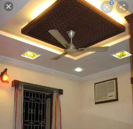 Rate 54 False ceiling and paint latest work with best rates