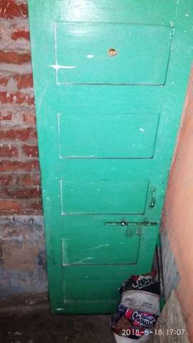A sagun wood door in new condition