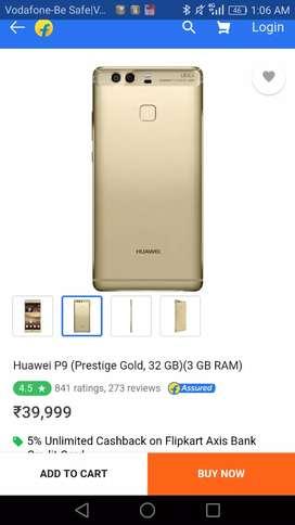 Huawei p9 3GB Ram 32GB internal