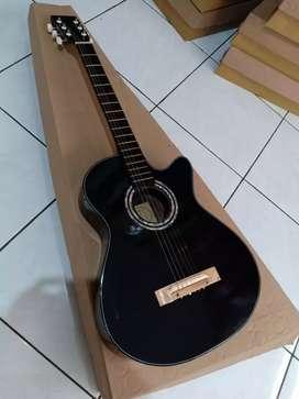 Gitar akustik sebuah