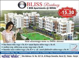 Ready to move 1BHK with OC, walking distance from Neral Station