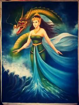 Lukisan ratu pantai Selatan