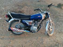 HonDa 125 Good Condition   Exchange possible with 70 in good condition