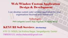 Web Application Development in Guntur (Freelancing)