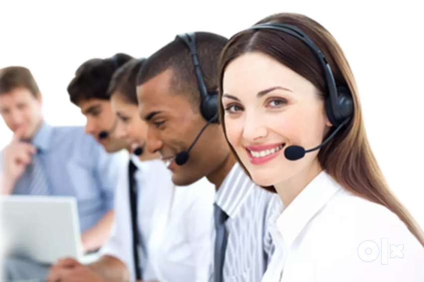 BPO call center talking with hindi english interested people message