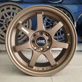 Velg Mobil Avanza, Calya, Vios - HSR GAYAK 786 R15 bronze