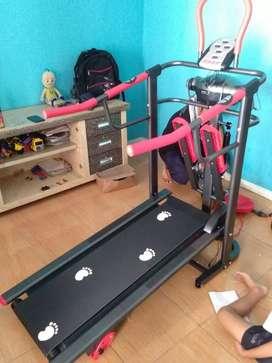 Treadmill  manual multy  fungsi
