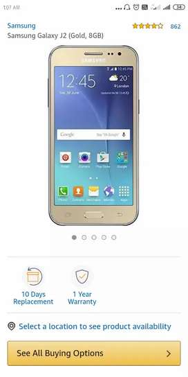 Samsung j2 8gb