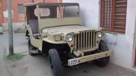 Willys jeep , made in year 1957.