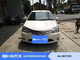 [OLX Autos] Toyota Etios 2014 1.2 E M/T Putih #MJ Motor